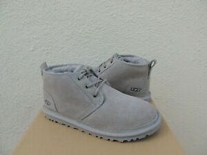 UGG NEUMEL SEAL GREY SUEDE/ SHEEPWOOL ANKLE BOOTS, WOMEN US 10/ EUR 41  ~NEW
