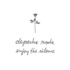 6cm Rose +13cm Depeche Mode & Enjoy the Silence Car Tattoo Sticker Foil