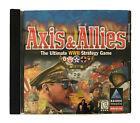 Axis & Allies Hasbro Computer Game Cd Rom Windows 95/98