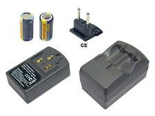 Batterie + Chargeur pour Concord EyeQ Go pro 2000 LCD CR123