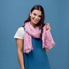 New Sheep Baby Pink Scarf