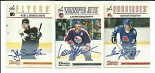 2012/13 PANINI CLASSIC SIGNATURES MARIAN STASTNY AUTO AUTOGRAPH
