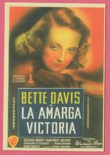 Spanish Pocket Calendar #280 Dark Victory Film Poster