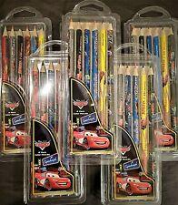 """Lot of 24 Pkgs - Disney's """"Cars"""" Movie 6 Pack Color Pencils = 144 Color Pencils"""