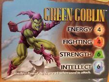 Marvel Overpower IQ Green Goblin Hero Card NrMint-Mint Card