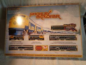 BACHMANN #24010 McKinley Explorer N SCALE train set SEALED