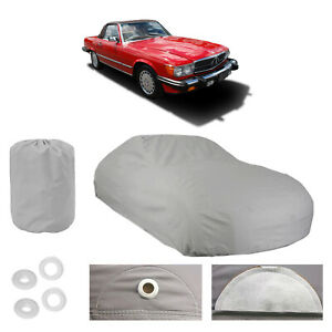 MERCEDES-BENZ 560 SL 4 Layer Car Cover Fit Outdoor Water Proof Rain UV Sun Dust