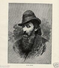 1884= RISORGIMENTO = RIPARI Pietro = Rara Stampa Antica