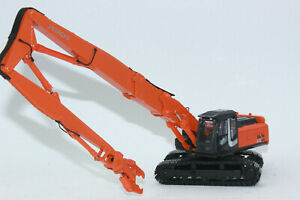 Hitachi Abbruchbagger Bagger 350 LCK ZAXIS Abbruchausrüstung   1:50 NEU mit OVP