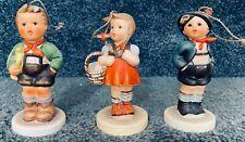 New ListingLot of 3 Goebel Berta Hummel Schmid Christmas Ornaments 1980s Vintage w Boxes