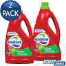 2 x RADIANT LAUNDRY LIQUID WHITES COLOURS WASHING FRONT TOP LOADER DETERGENT 2L
