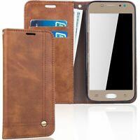Samsung Galaxy J5 2017 Étui Coque pour Portable Sac de Protection Housse Braun