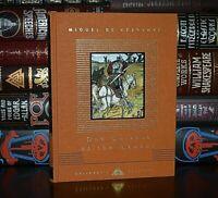 NEW Don Quixote of the Mancha Miguel de Cervantes Illustrated Crane Hardcover