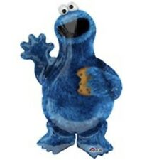 """Cookie Monster Sesame Street 35"""" Balloon Birthday Party Decorations"""