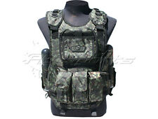 GXG Deluxe Digi Green Tactical Vest Paintball Chest Protector Tank Pouch NEW