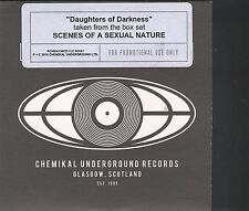 Arab Strap – Daughters Of Darkness Promo CD Card sleeve TypeArab Strap