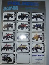 POLARIS CATALOGUE gamme quad 1988 WINTERSNOW