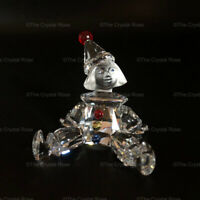 RARE Retired Swarovski Crystal Puppet Clown 217207 Mint Boxed