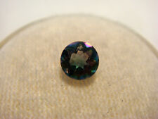 Mystic Topaz  Round Cut Gemstone 5 mm 0.5 carats unique Gem