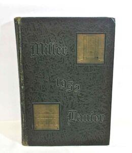 1932 YEARBOOK-MILLER LANIER HIGH SCHOOL MACON GA