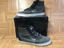 RARE🔥 VANS x Rebel8 Mike Giant Sk8-Hi Charcoal Black Sz 13 Men's Skateboarding