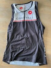 Men's Castelli Triathlon Free Tri Top BRAND NEW Black Size Large