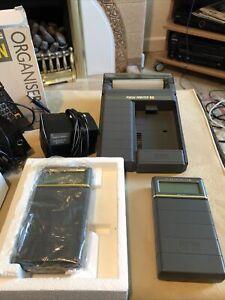 RARE 3 X Psion Organiser II  and datapak And Printer.