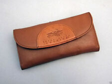 New Perry Ellis Women's Genuine Leather Wallet with Checkbook Cover