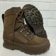 HAIX BROWN SUEDE DESERT HIGH LIABILITY COMBAT BOOTS  Size: 6 Wide , British Army