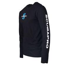 Scubapro Black Long Sleeve T-shirt Medium