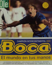 BOCA JUNIORS World Champion 2000 vs REAL MADRID - SPECIAL RARE Magazine