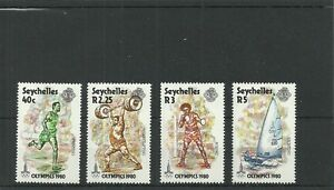 SEYCHELLES-SG473-476-OLYMPIC GAMES MOSCOW -MNH