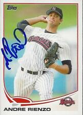 Andre Rienzo Chicago White Sox 2013 Topps Pro Debut Signed Card