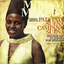"7"" MIRIAM MAKEBA Pata Pata SPANISH PS reprise 1968 mod"