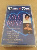 Michael Jackson / Diana Ross : Love songs : Cassette Tape Album From 1987