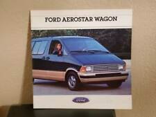 1988 Ford Aerostar Wagon Dealer Promotional Sales Brochure