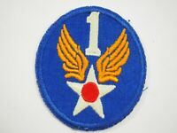 WWII Army Air Corps 1st Air Force Insignia Shoulder Patch