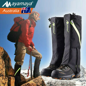 Hiking Walking Hunting Boots Gaiters Long Snow Snake Waterproof Leg Protection