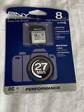PNY Class 10 8 Gb Sdhc Memory Card