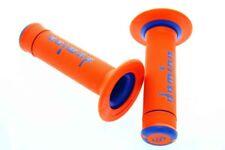 Domino Tommaselli manopole Off Road x Treme bicolore Arancione Blu