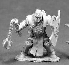 Reaper Miniatures Crusader Swordsman #03829 Dark Heaven Unpainted Metal