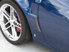 C6 Corvette Z06 / Grand Sport / ZR1 2006-2013 Laser Mesh Rear Side Vent Grilles