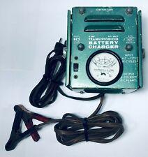 Vintage Workman Electronic 6 Amp Transistorized Battery Charger 6-12V BC2 USA