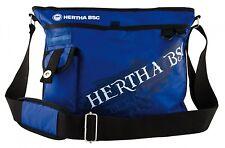 Hertha BSC Fanartikel Berlin Tasche groß viele Fächer Nylon bag Fußball günstig