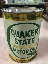 FULL 1 QT CAN QUAKER STATE UPER BLEND MOTOR OIL-20W-30