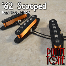 Planet Tone / Nico's USA '62 RG Scooped Mids Handcrafted Pickup Set for Strat®