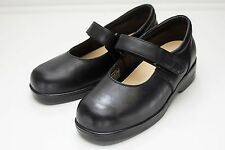 Apex 7.5 Extra Wide Black Mary Jane Shoes Women's