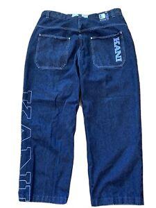 Vintage Karl Kani 90's Hip Hop Baggy Jeans Size 40 x 34 Men's