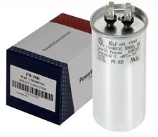 50 MFD 50 uf Single Run Capacitor 370 OR 440 VAC volts AC 50  RC0015 12725 CBB65