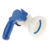 Contenitore acqua 1000L IBC serbatoio valvola a farfalla acqua rubinetto
